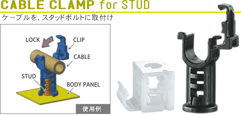 CABLE CLAMP for STUD