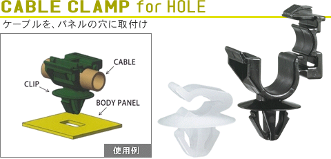 CABLE CLAMP for T-HOLE