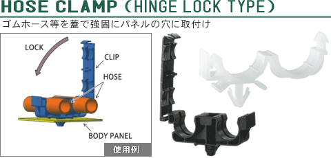 HOSE CLAMP (HINGE LOCK TYPE)