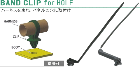 BAND CLIP for HOLE